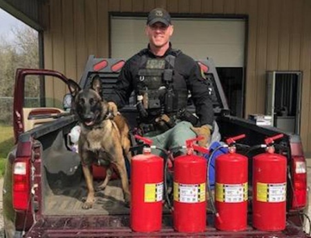 $3 6M in Meth Seized from Inside Fire Extinguishers